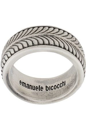EMANUELE BICOCCHI Engraved band ring