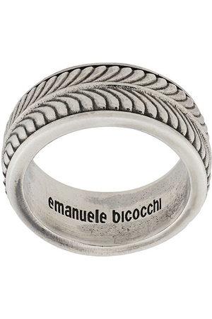 EMANUELE BICOCCHI Ringe - Engraved band ring