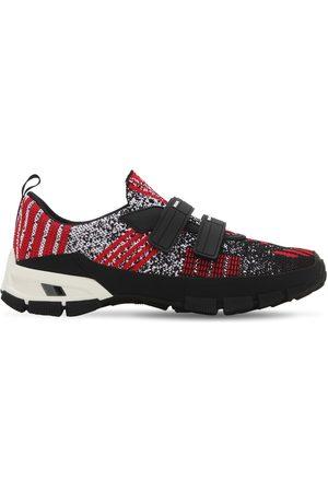 "Prada Sneakers Aus Strick ""cross Section"""