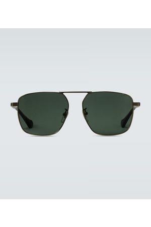 Gucci Eckige Aviator-Sonnenbrille