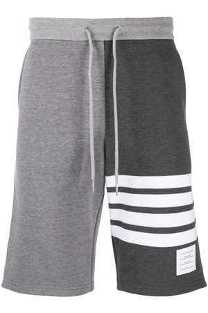 Thom Browne Classic Sweat Shorts in Classic Loop Back W/ Engineered 4 Bar