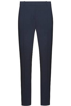 HUGO BOSS Regular-Fit Hose aus Stretch-Schurwolle