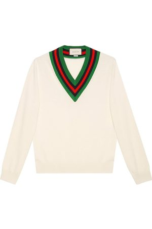 Gucci V-neck knit jumper