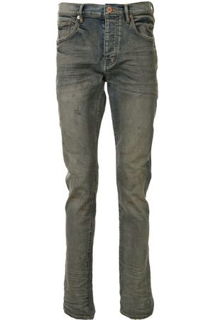 Purple Brand Low-rise slim jeans
