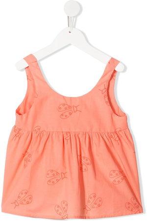 KNOT Mädchen Tops - Ladybird-print vest