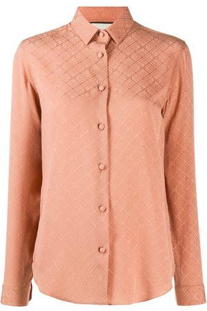Gucci GG check long-sleeved shirt
