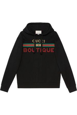 Gucci Boutique print hoodie