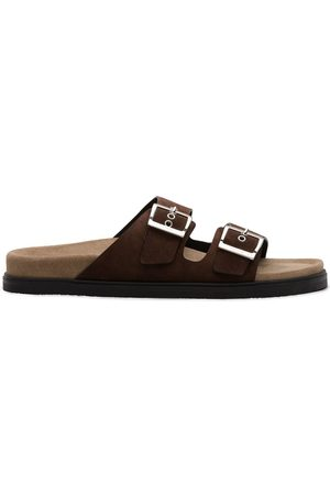Car Shoe Double-strap sandals