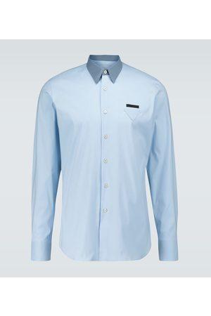 Prada Langarmhemd mit Logo-Detail