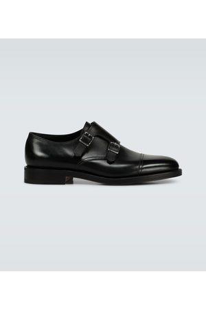 JOHN LOBB Monkstrap-Loafers William aus Leder