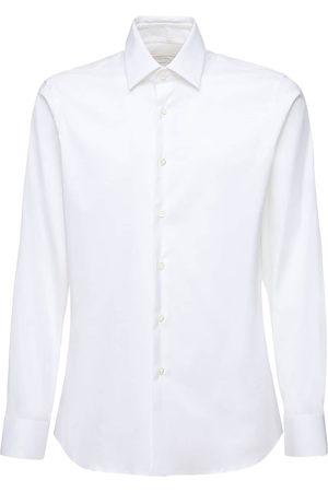 Prada Enges Hemd Aus Stretch-baumwollpopeline