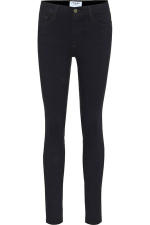 Frame Mid-Rise Skinny Jeans Le Color