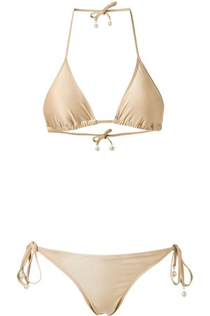 AMIR SLAMA Damen Bikinis - Triangle bikini set