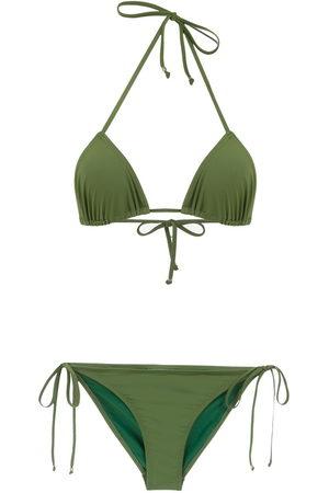 AMIR SLAMA Damen Bikinis - Plain bikini set