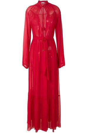 AMIR SLAMA Damen Lange Kleider - Silk maxi dress