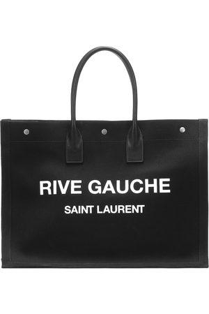 Saint Laurent Bedruckte Tote Rive Gauche