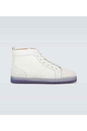 Christian Louboutin Sneakers Lou Spikes III aus Leder