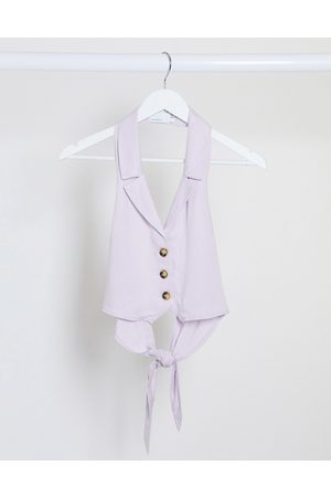 ASOS Soft suit waistcoat in dusty lilac