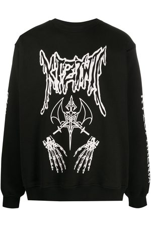 KTZ Dead Metal crew neck sweatshirt