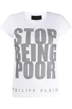Philipp Plein SS Crystal T-shirt
