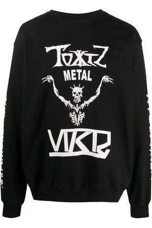 KTZ Cotton skeleton print sweatshirt