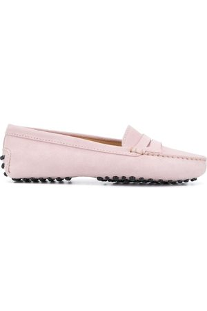 Scarosso Sofia pebbled sole loafers