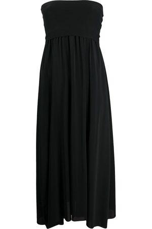 ERES Strapless flared midi dress