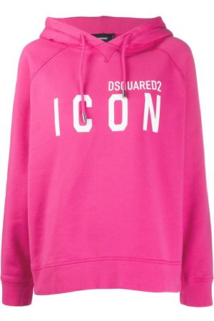 Dsquared2 Printed logo oversized hoodie