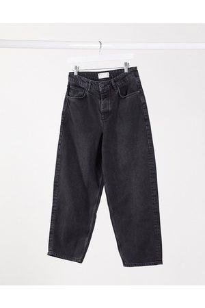 ASOS Barrel jeans in washed