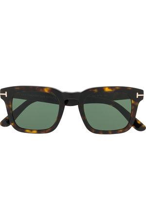 Tom Ford Tortoiseshell square-frame sunglasses