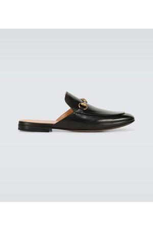 Gucci Horsebit-Slippers aus Leder