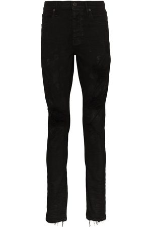 Purple Brand Oil Spill slim fit jeans