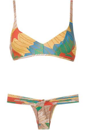 AMIR SLAMA Cocar Francês bikini set