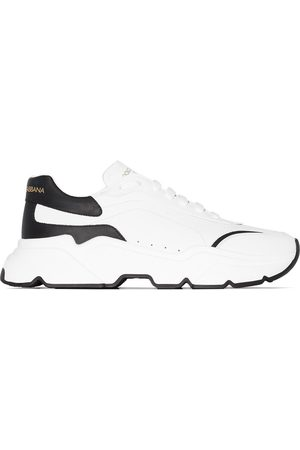 Dolce & Gabbana Day Master two-tone leather sneakers