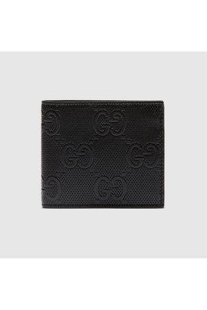 Gucci Portemonnaie aus geprägtem GG Leder