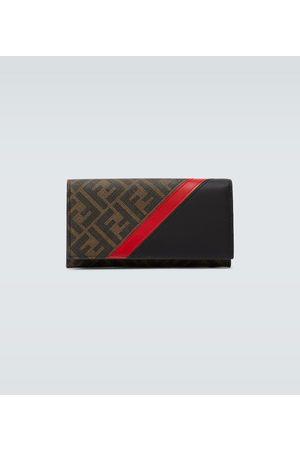 Fendi Leder-Portemonnaie mit Logo