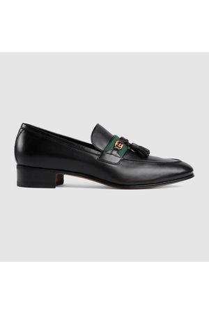 Gucci Herren-Loafer mit Web und GG