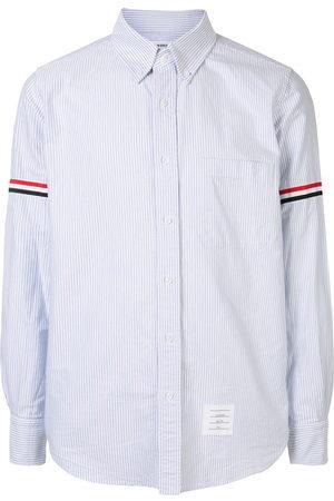 Thom Browne RWB armband university stripe shirt