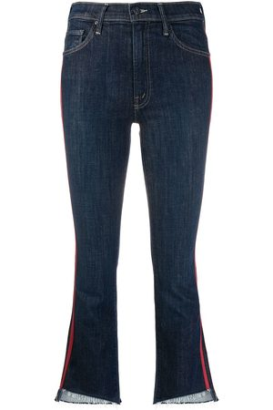 Mother Speed Racer cropped jeans