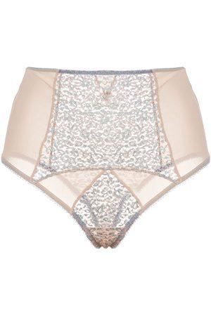 Kiki de Montparnasse Damen Panties - Tiger Lily high-rise briefs