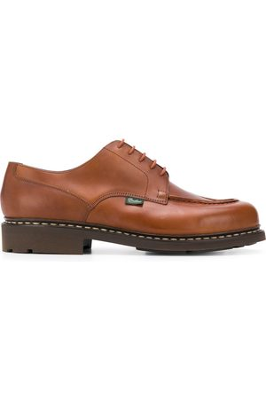 Paraboot Herren Schnürschuhe - Exposed-stitched leather shoes