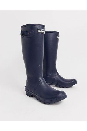 Barbour Bede wellington boots in navy