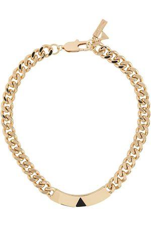 Coup De Coeur Pyramid tag necklace