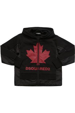 Dsquared2 Sweatshirt Aus Baumwolle Und Nylon