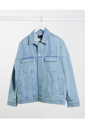 ASOS Oversized denim jacket in light wash