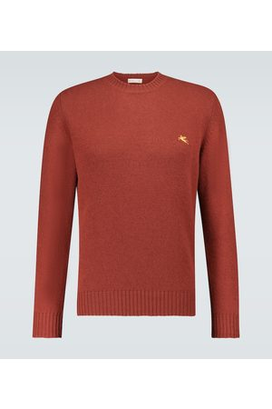 Etro Bestickter Pullover aus Wolle