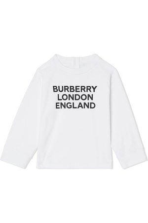 Burberry Logo-print long-sleeve top