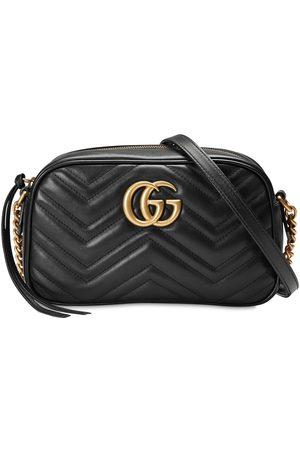 """Gucci Damen Handtaschen - Kosmetiktasche Aus Leder """"gg Marmont"""""""