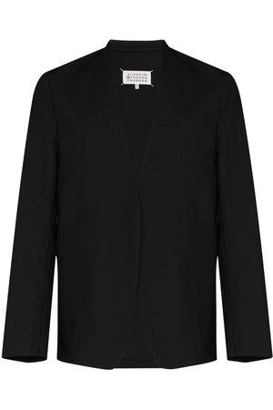 Maison Margiela Herren Blazer & Sakkos - Collarless single-breasted blazer