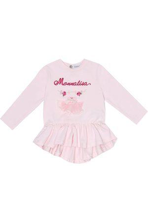 MONNALISA Baby Besticktes Top aus Baumwolle